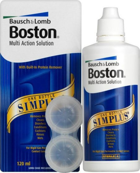 BOSTON SIMPLUS Solution all in one 120 ml Bausch & Lomb