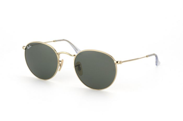 RAY-BAN RB3447 001 53 ROUND METAL