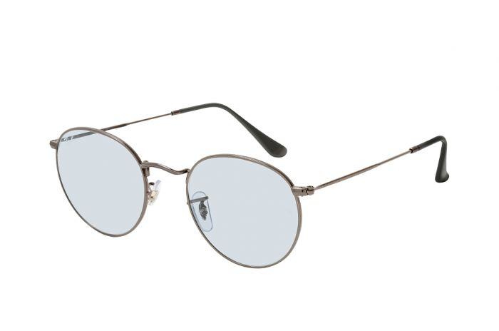 RAY-BAN RB3447 004/T3 53 ROUND METAL