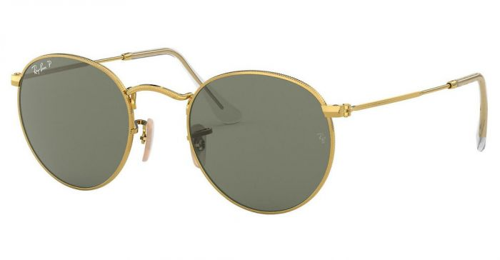 RAY-BAN RB3447 001/58 50 ROUND METAL