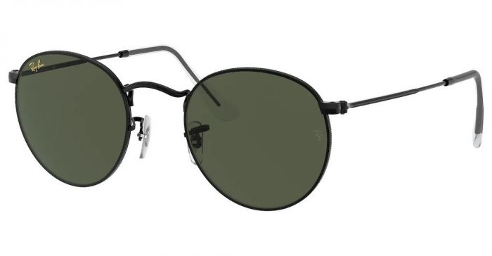 RAY-BAN RB3447 919931 53 ROUND METAL