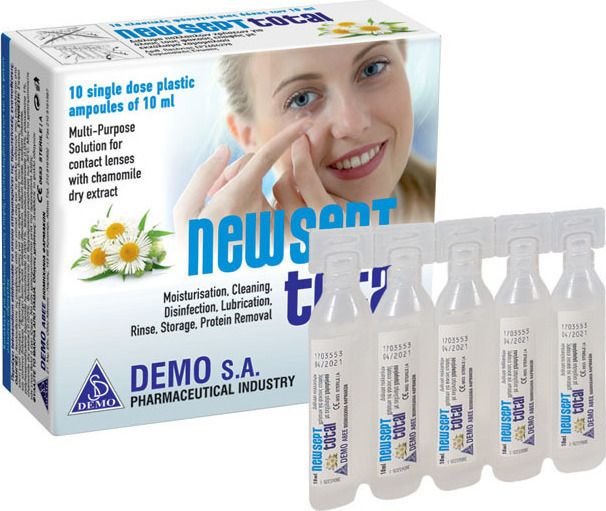 NEWSEPT TOTAL AMPOULES 10 X 10 ML
